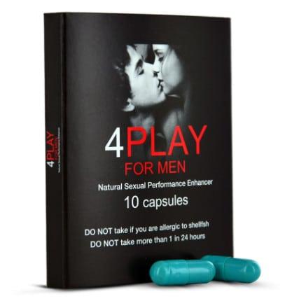 4PlayForMen Integratore disfunzione erettile